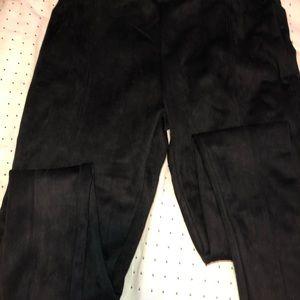 Pants - Suede leggings